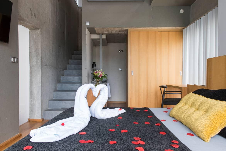 Vista cama Suite